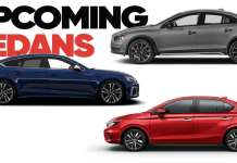 Upcoming sedans in 2021