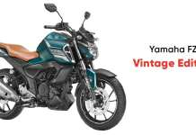 Yamaha Launched FZS FI Vintage Edition