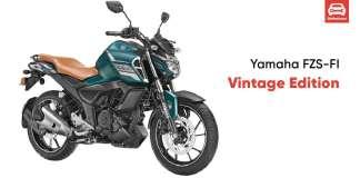 Yamaha Launched FZS FI Vintage Edition