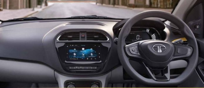 Infotainment System at the Tata Tiago