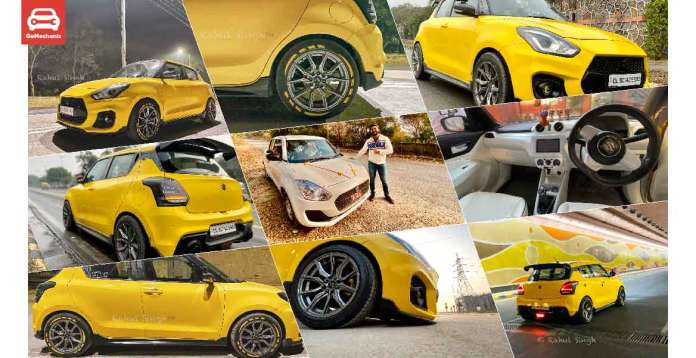 Rahul Singh's Modified Maruti Suzuki Swift LXI