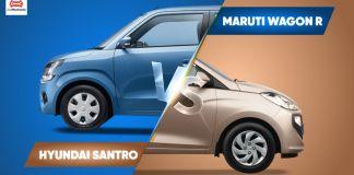WagonR vs Santro