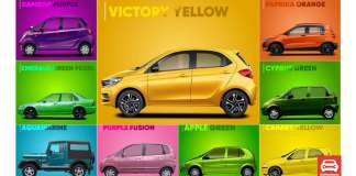 Cars With Outrageous Colours