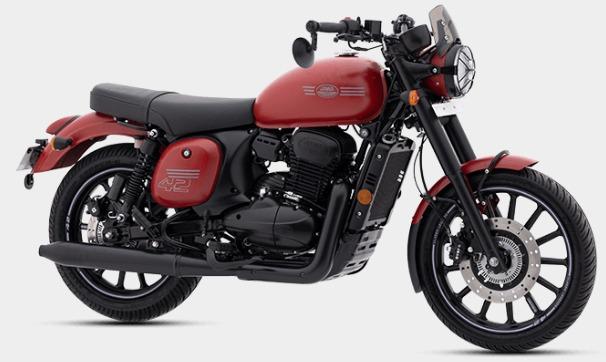 New Jawa 42 Red