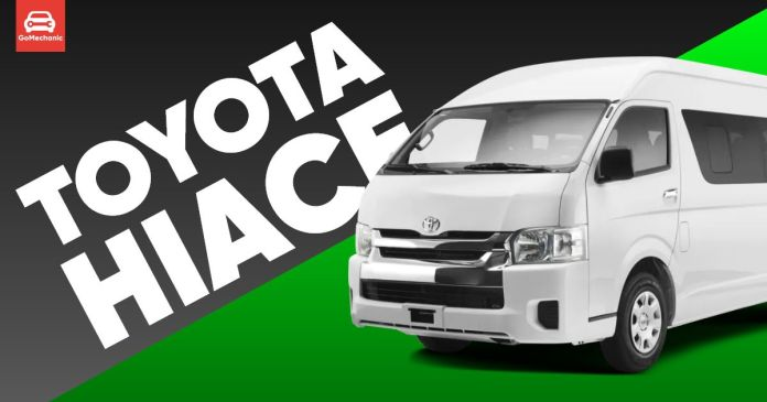 Toyota Hiace Introduced, Priced at ₹55 Lakhs