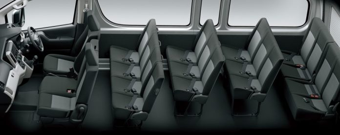Toyota Hiace Seating