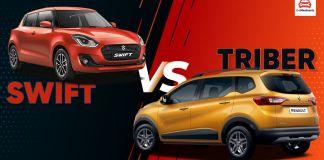 Maruti Suzuki Swift 2021 vs Renault Triber
