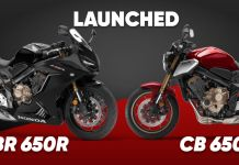 CB650R and CBR 650R Launched