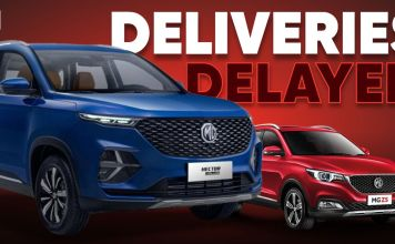 MG Deliveries Delayed
