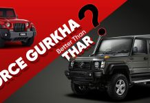 Force Gurkha better than Thar