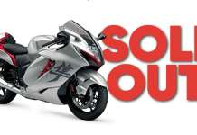 2021 Suzuki Hayabusa Sold Out