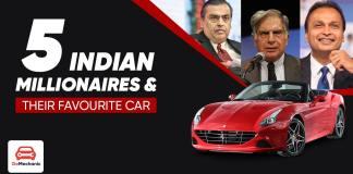 5 Indian millionaires ft