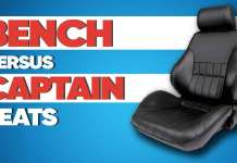 Bench Vs Captain Seats