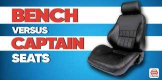 Bench Vs Captain Seats