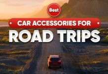 Car accessories for Road Trips ft