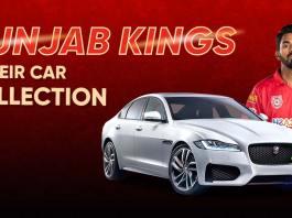 Punjab Kings & Their Cars