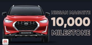 Nissan Magnite 10,000 production milestone