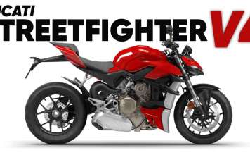 2021 Ducati Streetfighter V4 Launched