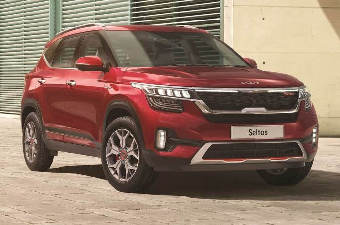 2021 Kia Seltos | Front Profile