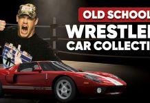 Old School Wrestler Car Collection