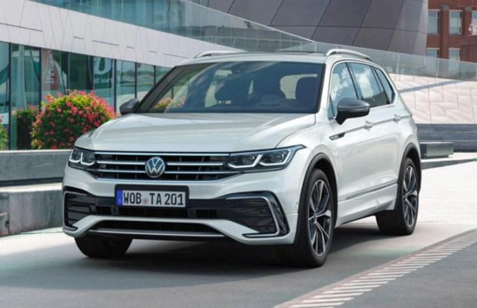 Volkswagen Tiguan Allspace Front