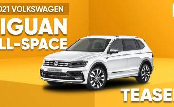 Volkswagen Tiguan teased ft