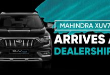 XUV700 Arrives at Dealerships ft