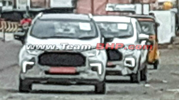2022 Ford EcoSport front profile