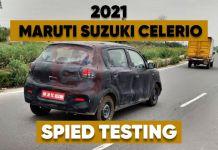 2021 Maruti Celerio Spied
