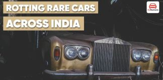 Rare Cars Lying Rotten In India