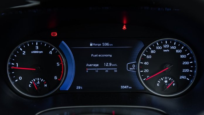 Seltos Speedometer