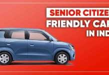 Senior Citizen Friendly Cars In India