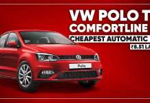 Volkswagen Polo TSI Comfortline AT Launched In India
