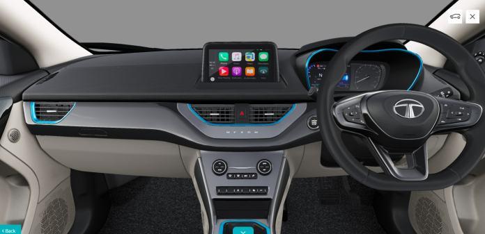 2021 Tata Nexon EV Interior