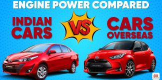 engine power compared ft