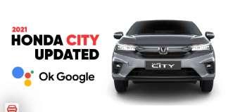 2021 Honda City Updated With Okay Google