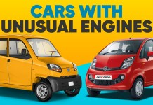 Cars with unusual engines