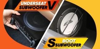 Underseat vs boot