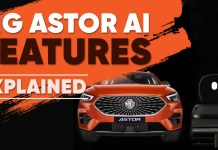 Mg Astor features explained