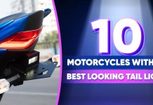 Motorcycles with the Best Looking Tail lights