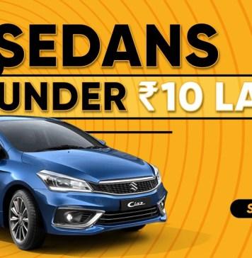 Best Sedans You Can Buy For Under 10 Lakhs