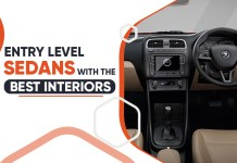 Entry Level Sedans With The Best Interior