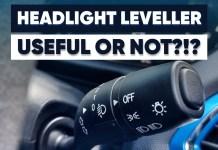 Headlight leveller useful