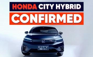 Honda City Hybrid Confirmed for 2022