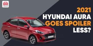 Hyundai Aura Goes SPOILER less?