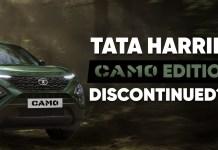Tata Harrier Camo Edition Discontinued Ahead Of 2021 Festive Season