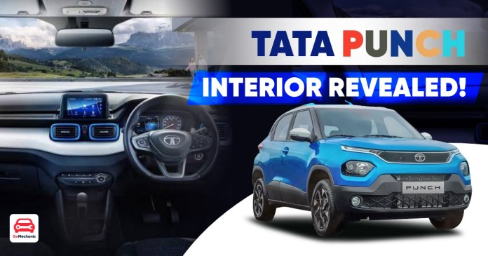 Tata Punch Interior Revealed