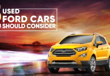 Best Second Hand Ford Cars You Should Definitely Consider