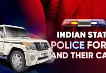 Indian State Police Force And Their Cars