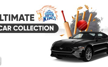 The Ultimate Chennai Super Kings Car Collection